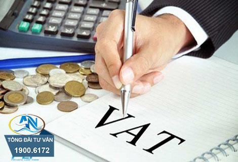 không chịu thuế giá trị gia tăng
