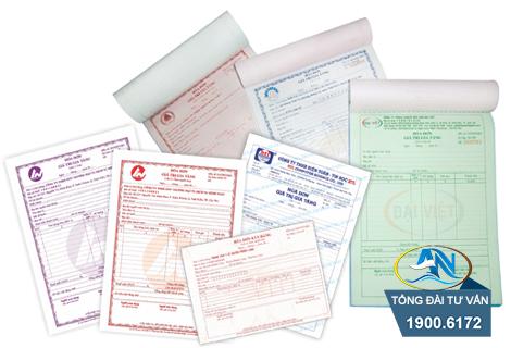 nội dung ghi trên hóa đơn