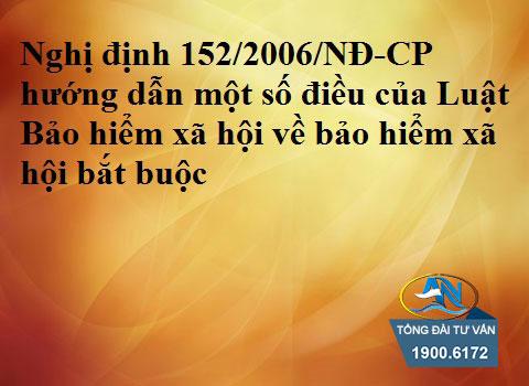 Nghị định 152