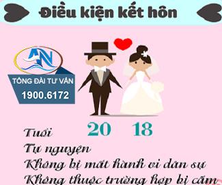 điều kiện về tuổi kết hôn