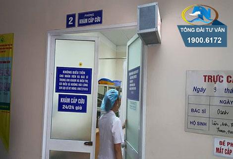 Điều trị sau cấp cứu tại bệnh viện trái tuyến