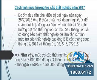 cach tinh tro cap that nghiep nam 2016 1