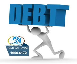 Khoản nợ khi công ty giải thể