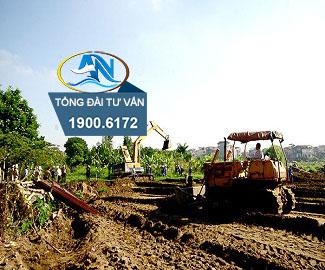 Thông báo về việc thu hồi đất