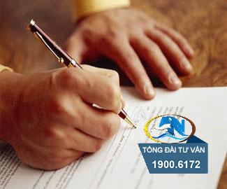 công ty không ký hợp đồng