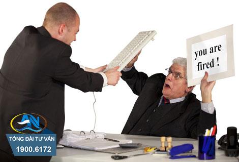 nguyên tắc trình tự xử lý kỷ luật sa thải