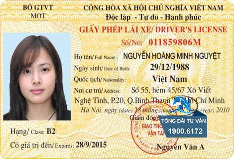 Thời hạn của giấy phép lái xe