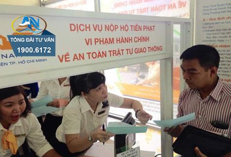 Nộp phạt vi phạm giao thông qua bưu điện