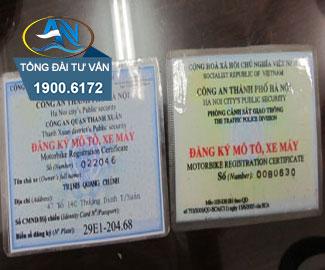Chi phí đăng ký xe