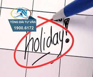 Quy định về ngày nghỉ hàng năm