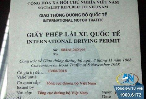 Làm giấy phép lái xe quốc tế