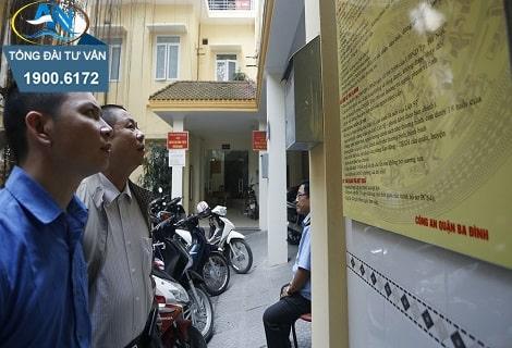 Phí đăng ký xe máy