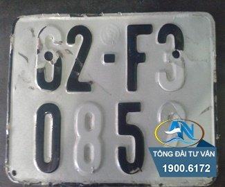 Lắp biển số xe cũ