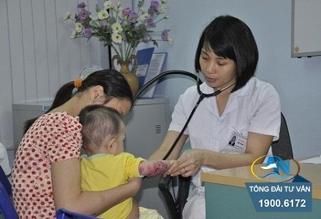 phí khám chữa bệnh cho trẻ em dưới 6 tuổi