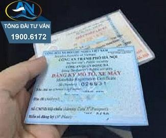 Thế chấp giấy đăng ký xe