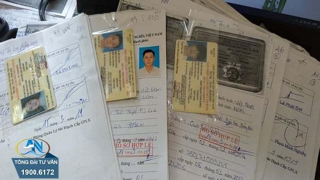Hồ sơ gốc Giấy phép lái xe