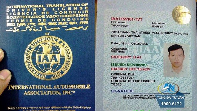 Đổi bằng lái xe do nước ngoài cấp