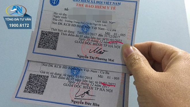Hạn sử dụng thẻ BHYT học sinh lớp 12