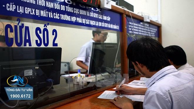 giấy phép lái xe bị mất hồ sơ gốc