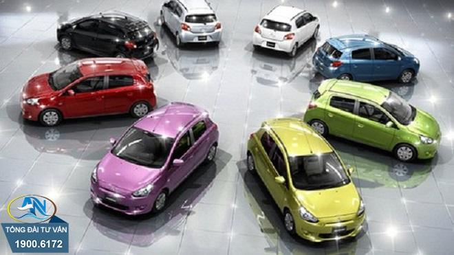 Hồ sơ đổi lại thông tin về màu sơn xe