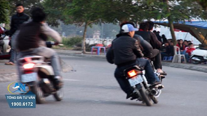 xe máy không có hệ thống hãm