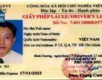 Đổi Giấy phép lái xe ngành Công an cấp