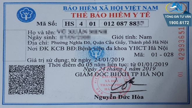thẻ BHYT sai tên so với giấy khai sinh