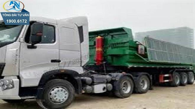 GPLX hạng B1 mà kéo theo rơ moóc 1 tấn
