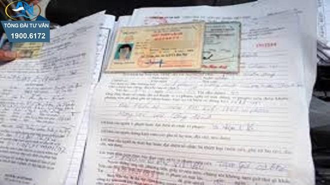 nộp phạt được khi không ký vào biên bản