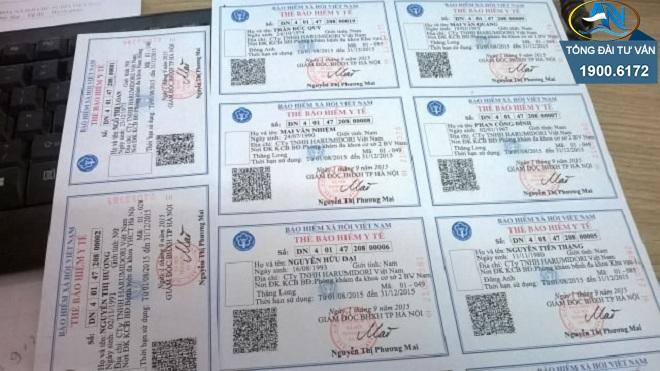 đăng ký thẻ BHYT cho trẻ sơ sinh