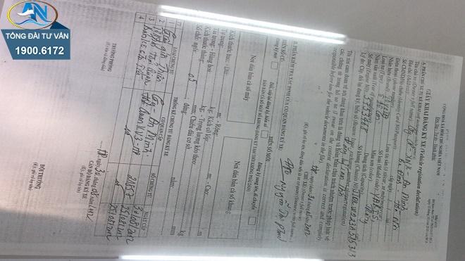 Hồ sơ đăng ký xe ô tô 4 chỗ