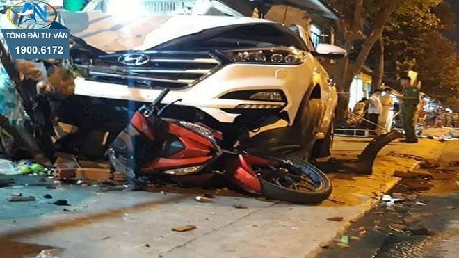 gây tai nạn bị tạm giữ phương tiện