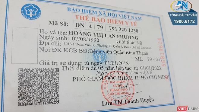 Mã thẻ BHYT ký hiệu NO