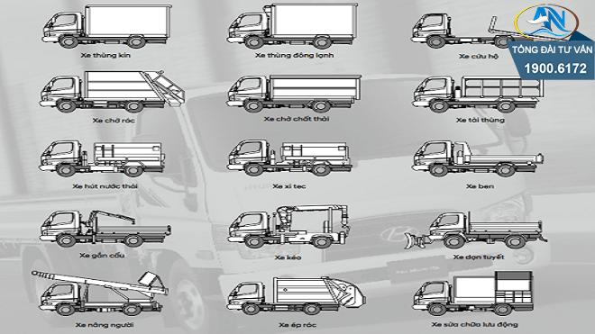 thủ tục cải tạo xe ô tô tải