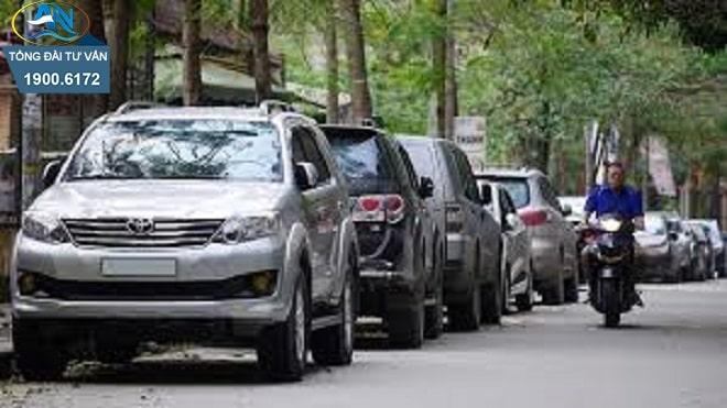 dừng xe và đỗ xe trên đường bộ