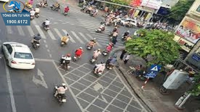 Quy tắc nhường đường tại nơi đường giao nhau