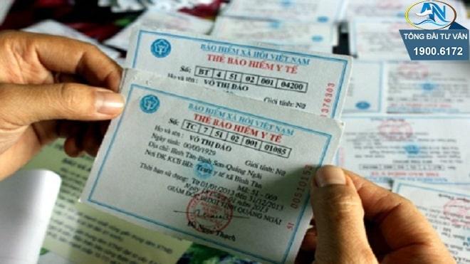 cấp thẻ BHYT thân nhân công an