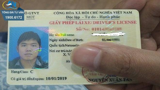 cấp lại GPLX hạng B1 cho người nước ngoài