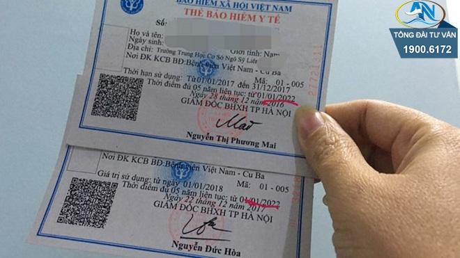 Trực tiếp ra bưu điện gia hạn thẻ BHYT