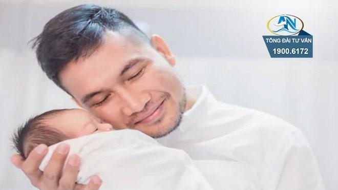 chong tham gia bhxh tu nguyen co duoc huong thai san khi vo sinh khong