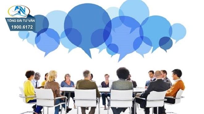 Định kỳ tổ chức đối thoại tại nơi làm việc