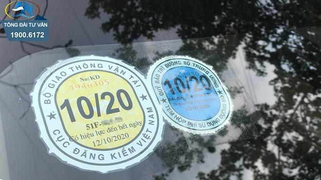 ô tô quá hạn đăng kiểm 16 ngày