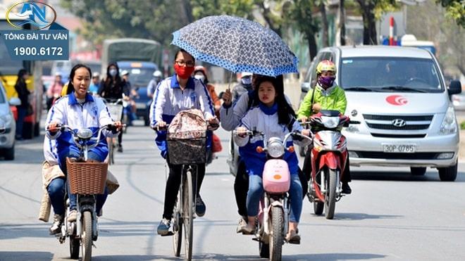điều khiển xe đạp điện sử dụng ô