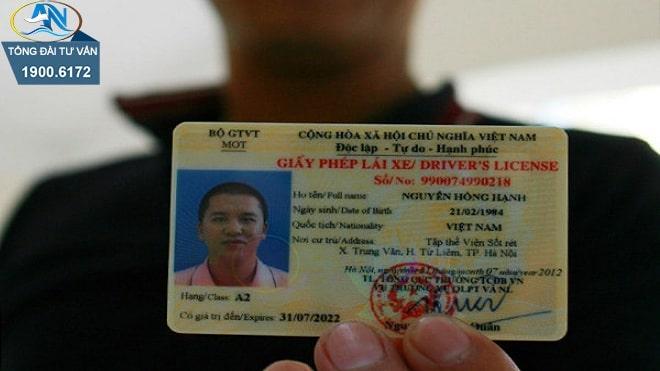 Thị lực để thi giấy phép lái xe