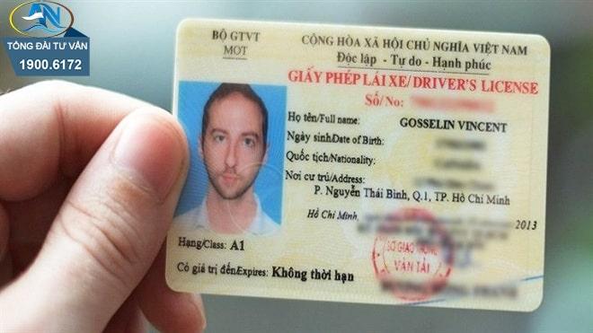 đổi GPLX do nước ngoài cấp sang GPLX Việt Nam