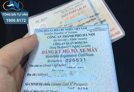 Thủ tục cấp đổi lại Giấy đăng ký xe máy