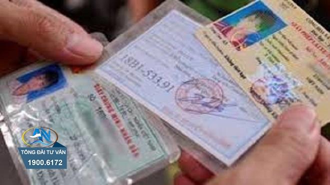giấy phép lái xe ô tô nhưng không phù hợp